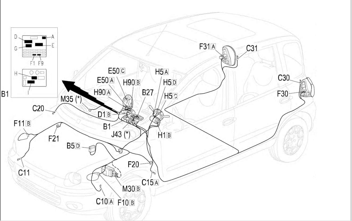 Глюк электроники — FIAT Multipla, 1.9 л., 2001 года на DRIVE2