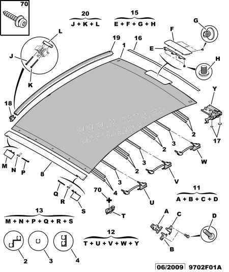 Ремкомплект направляющих крыши — бортжурнал Citroen C3