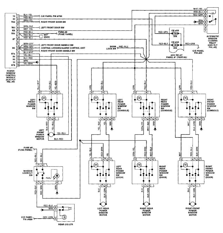 О реле стеклоподъемников — бортжурнал Audi 80 ~Wanderer