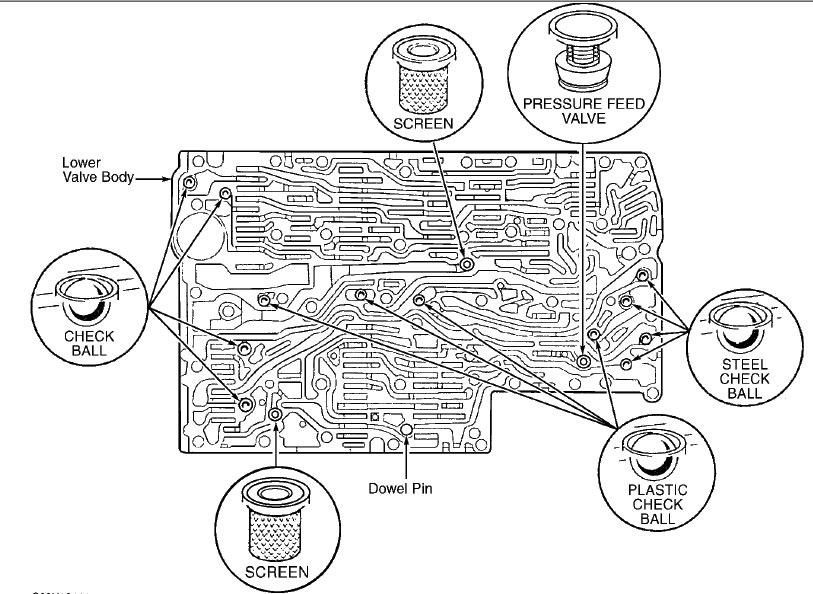 Замена масла в АКПП (722.634) (частичная), промывка