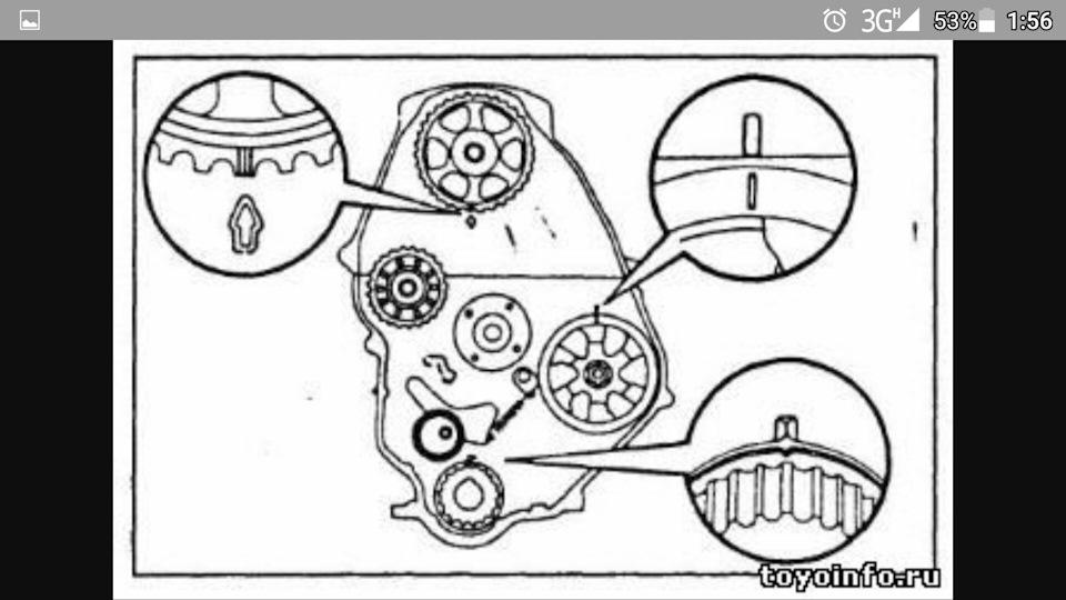 Toyota hiace d4d timing belt change