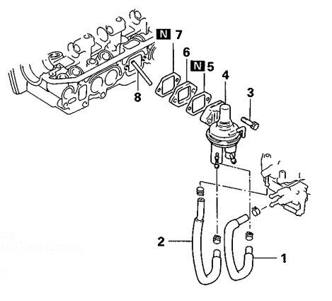Регулятор давления топлива для карбюратора — бортжурнал