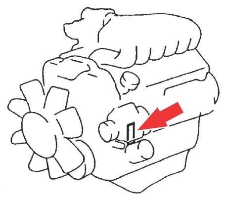 Расположение номеров двигателя Toyota/Lexus. Часть 1. — DRIVE2