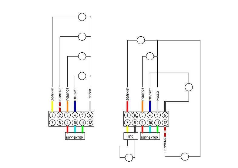 Оригинальные Би-ксеноновые фары от Lancer Evolution X