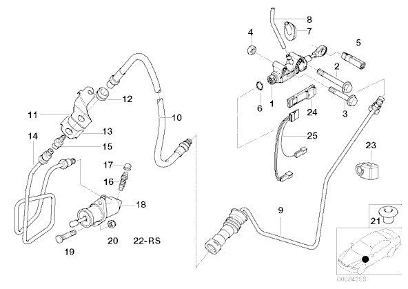 Переделка SMG2 в 6МКПП Часть 1 — logbook BMW M3
