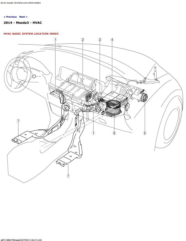 Mazda 3 Полный сервис мануал (Английская версия) — Mazda 3