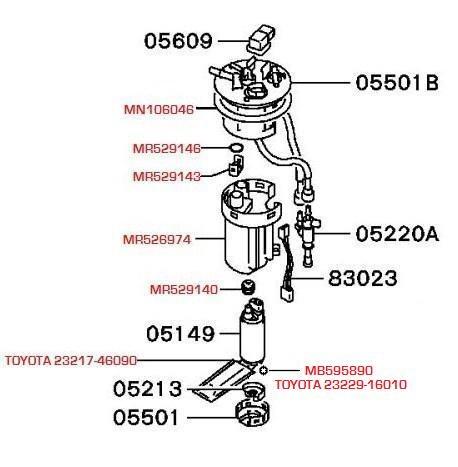 Fuel filter Montero 3 — logbook Mitsubishi Montero