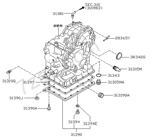 CVT Nissan RE0F06A (Jatco F06A) — проблемы, ремонт, замена