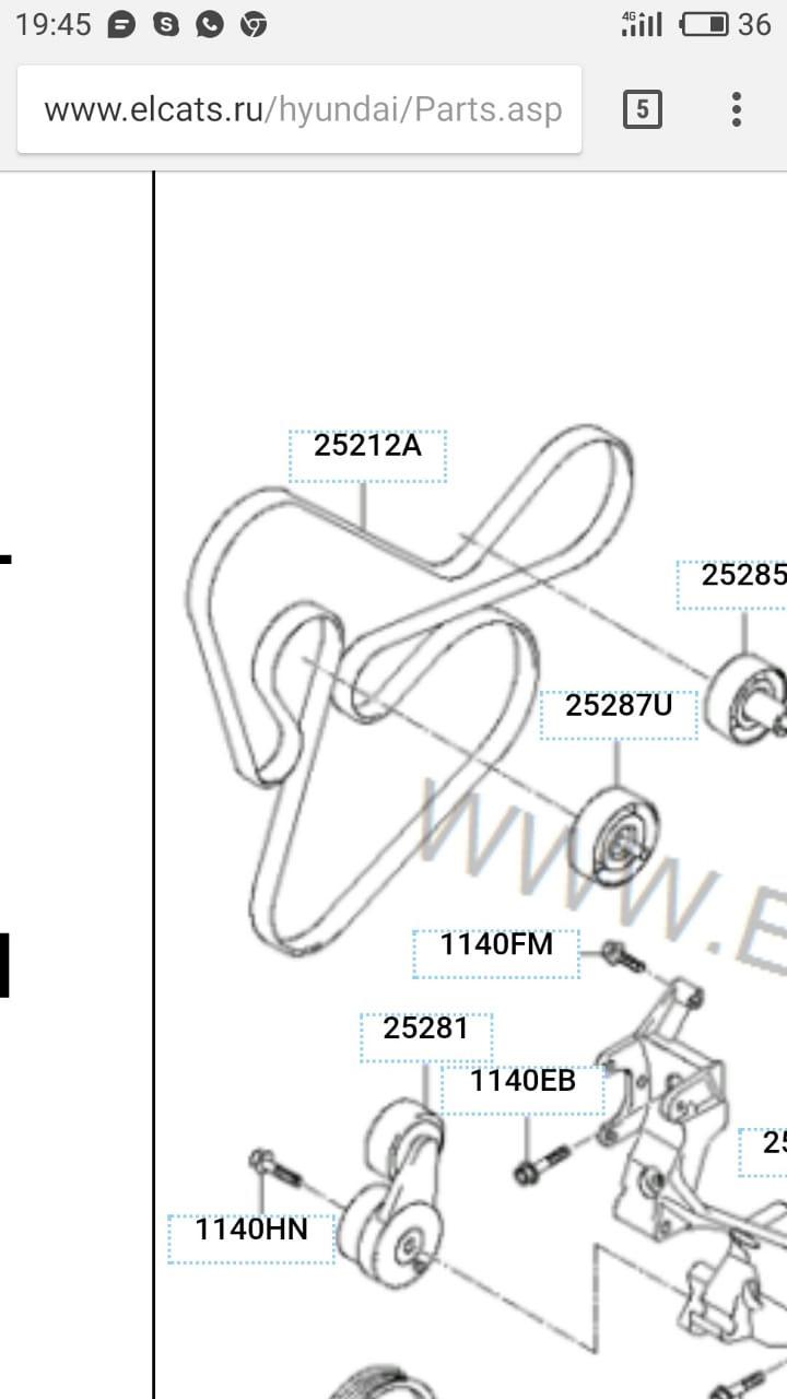 Замена Шкива коленвала — бортжурнал Hyundai Santa Fe