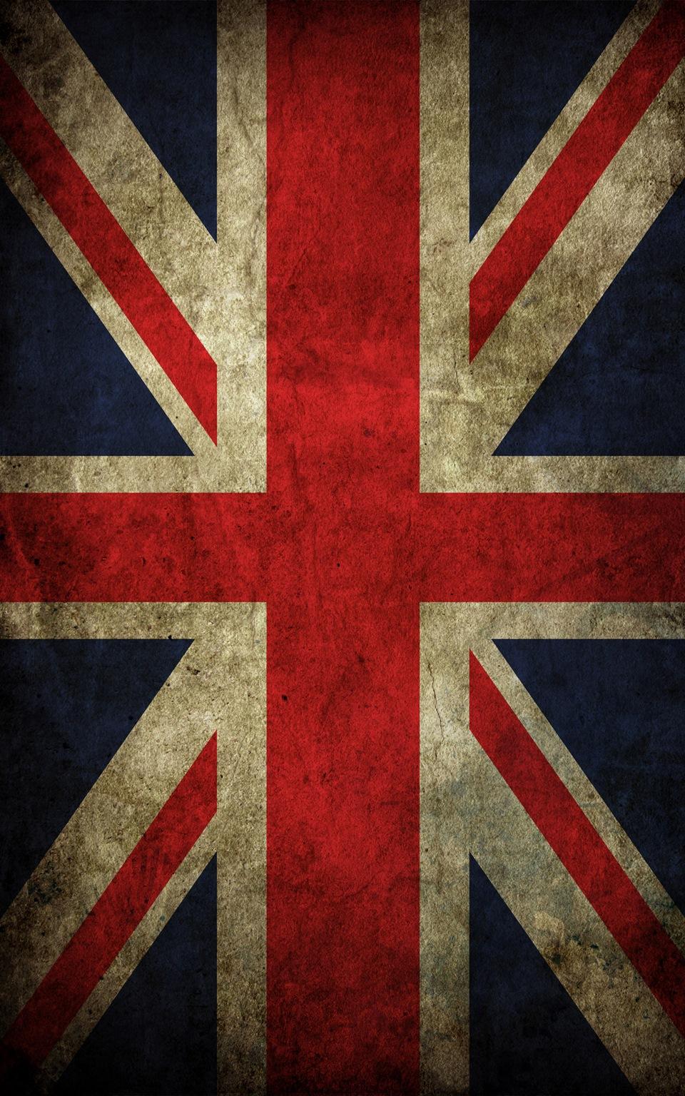 The Beatles Iphone 5 Wallpaper Закатал крышу под Британский флаг Сообщество