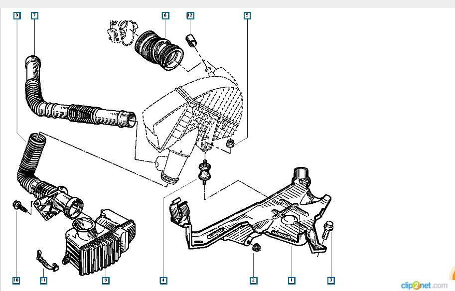 Датчик положения коленвала ( замена ) — бортжурнал Renault