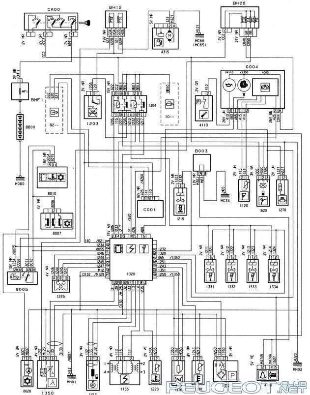 Выкладываю схемы инжектора Magneti Marelli 8p — может кому