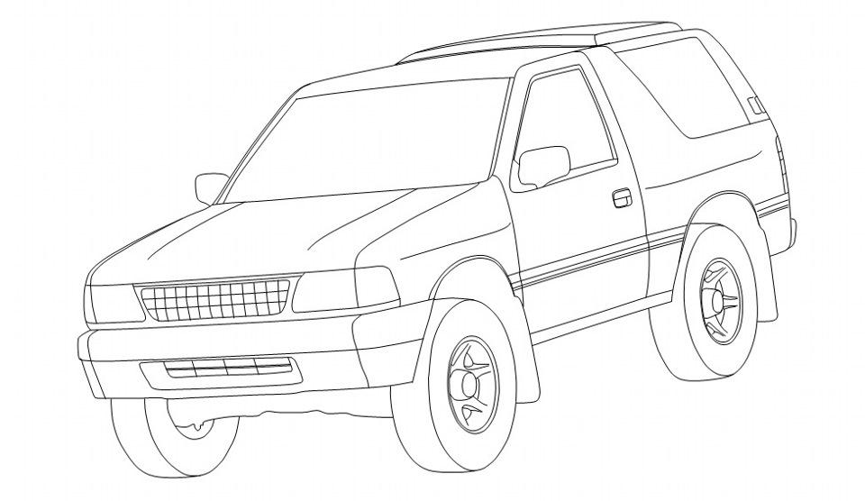 Правильная детская раскраска — бортжурнал Opel Frontera A