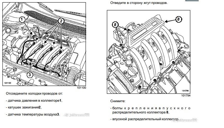 31 — Чистка двигателя, ДЗ. Замена прокладок впускного K4J