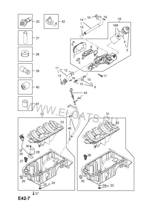Замена прокладок теплообменника Z18XER (часть 1