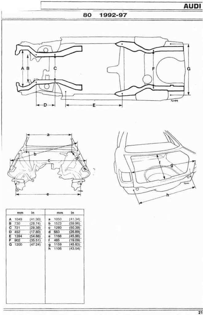 cargeometry.com/index.php?do=register — бортжурнал Audi 80