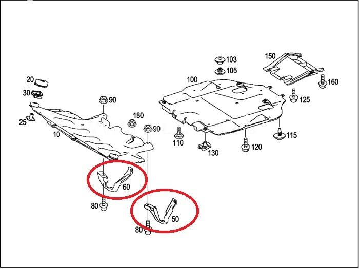 ТО: Бачок ГУ + Тормозные шланги + Защита двигателя