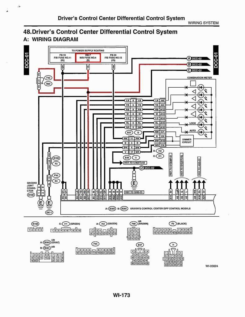 medium resolution of  6mt dccd subaru impreza wrx nb r 2000