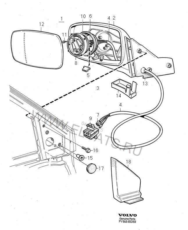 Правое зеркало заднего вида. Итог. — бортжурнал Volvo 760