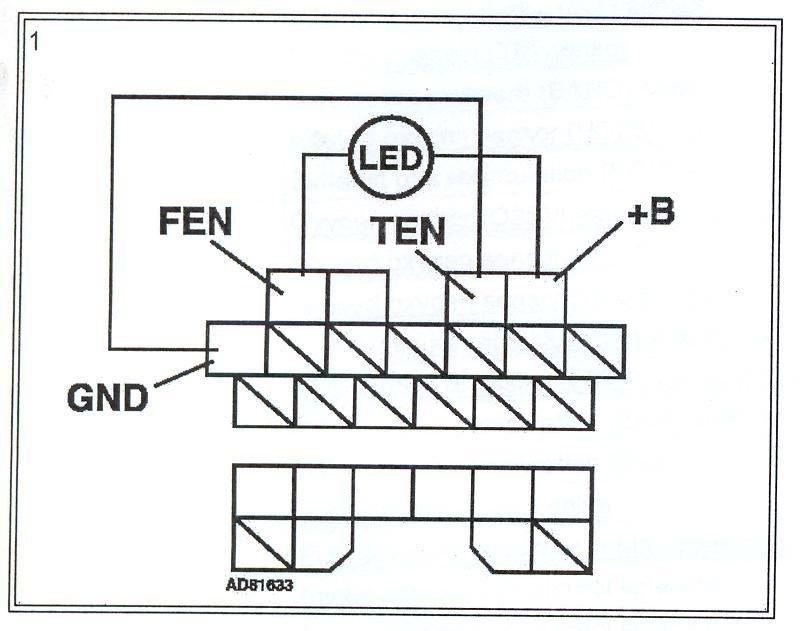 Диагностика двигателя Коды ошибок 2 — logbook Mazda