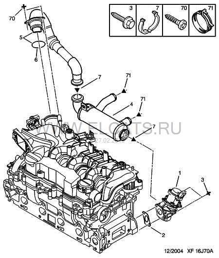 Снятие и чистка ЕГР — logbook Peugeot 307 1.6 HDi 2005 on