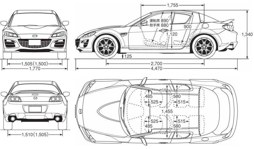 Mazda rx-8 характеристики — DRIVE2