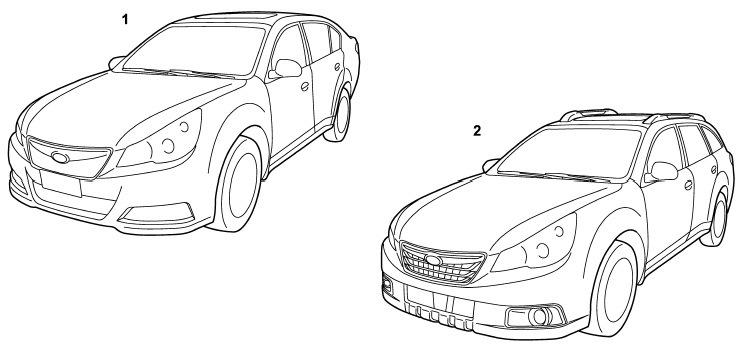 Документация Subaru — Часть №2 — DRIVE2