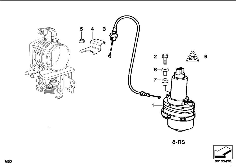 Замена троса ASC (антибукс) M52 — бортжурнал BMW 5 series