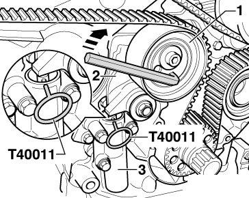 Мунуал замена ГРМ — бортжурнал Audi Allroad 2.7 biТ