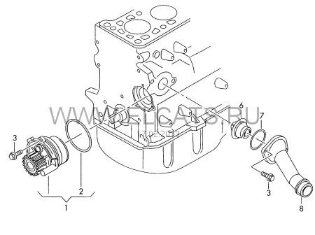 Поготовка к замене ГРМ — logbook Audi A4 B6 BFB My LOW