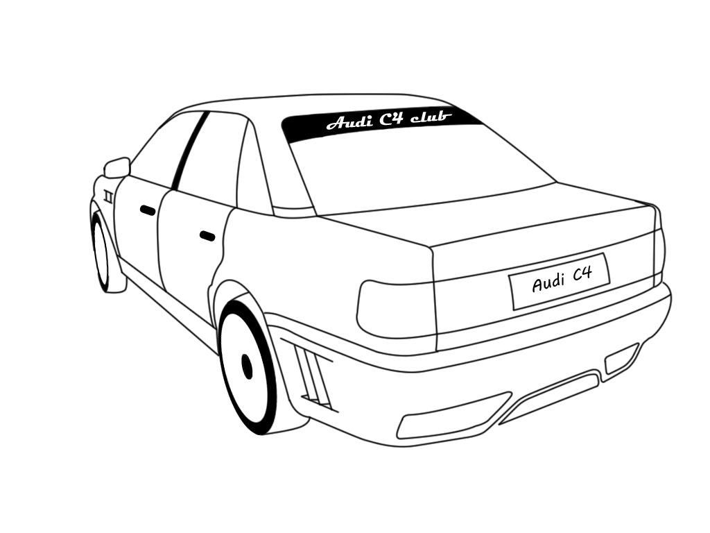 Логотип на заднее стекло ( обновлено ) — бортжурнал Audi