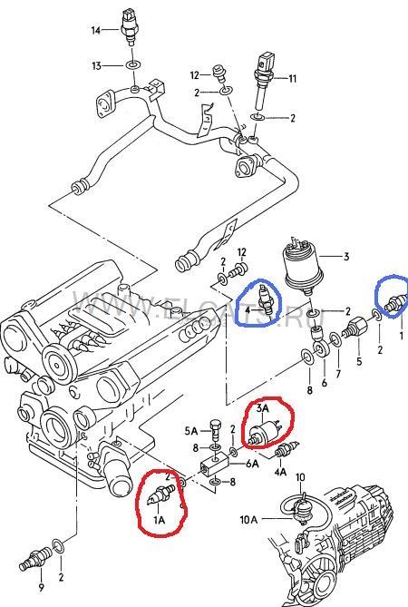 датчик давления масла — бортжурнал Audi 100