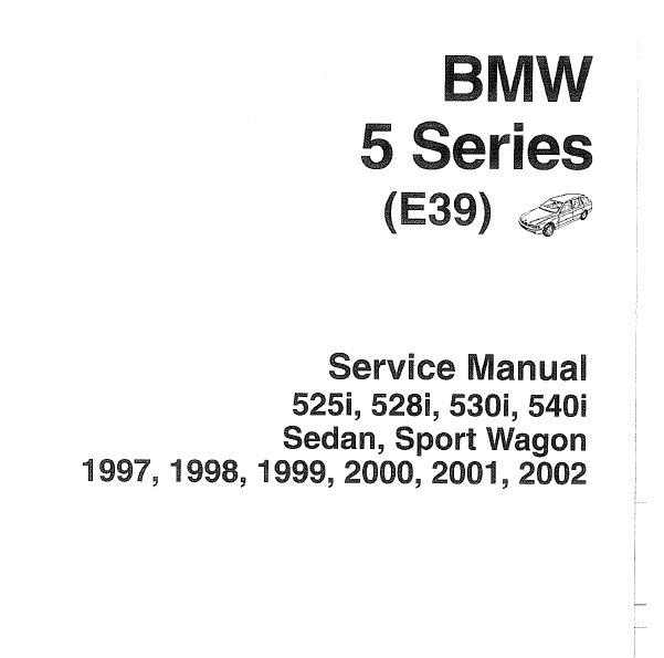Различные руководства по BMW е39 — бортжурнал BMW 5 series
