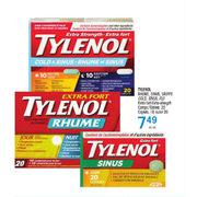 Uniprix: Tylenol Rhume Sinus Grippe Cold Sinus Flu ...