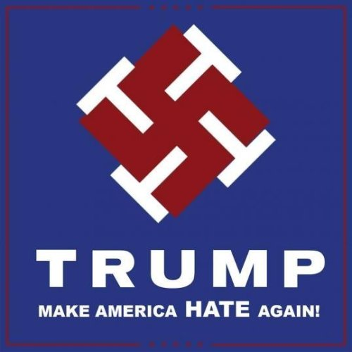 Trump Pence Make America Hate Again