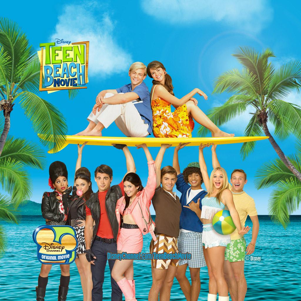 teen beach movie poster