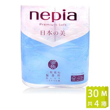 Nepia日本美金魚極柔捲筒衛生紙(30m/4入) - PChome 24h購物