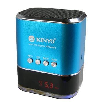 KINYO【音樂大師】 FM讀卡喇叭MPS-377 - PChome 24h購物