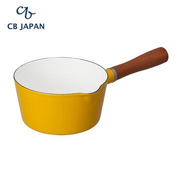 CB Japan 北歐系列琺瑯原木單柄牛奶鍋 - PChome 24h購物