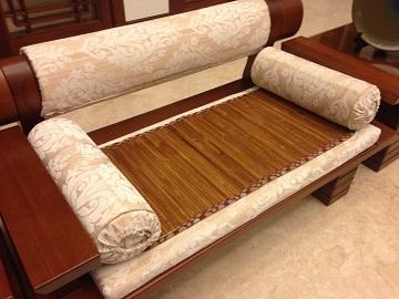 良蓆工房 臺灣製造專利技術碳化竹蓆涼椅墊(2人座 ) - PChome 24h購物