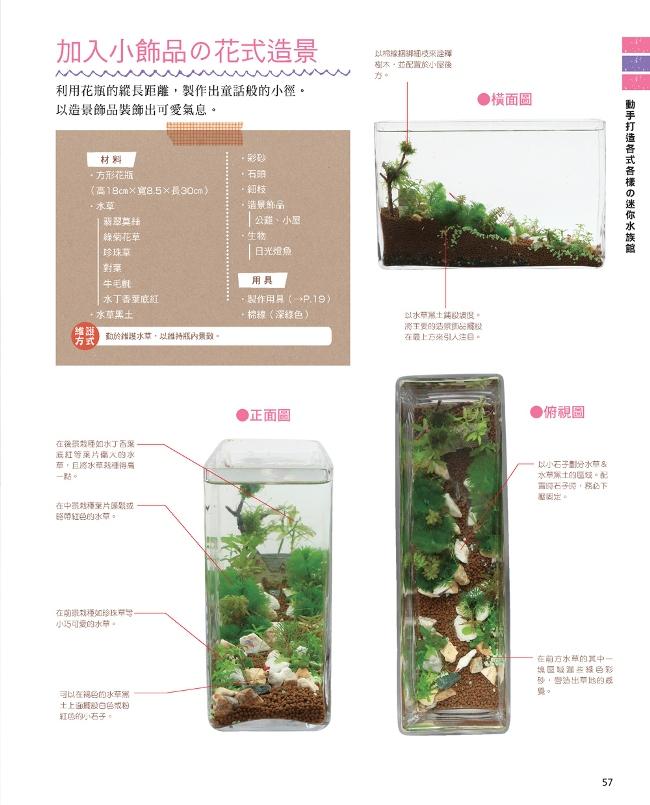 迷你水草造景x生態瓶的入門實例書 - PChome 24h書店