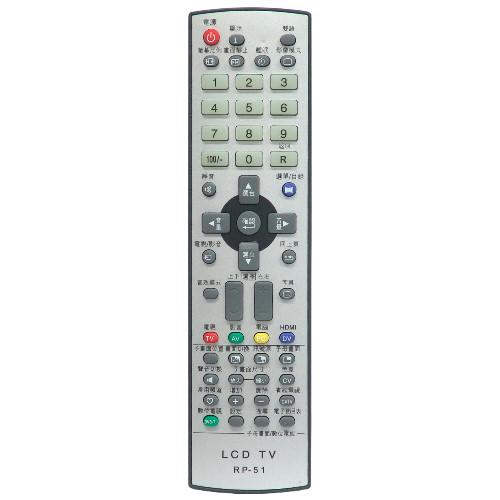 奇美 專用型液晶電視遙控器 RP51 - PChome線上購物 - 24h 購物