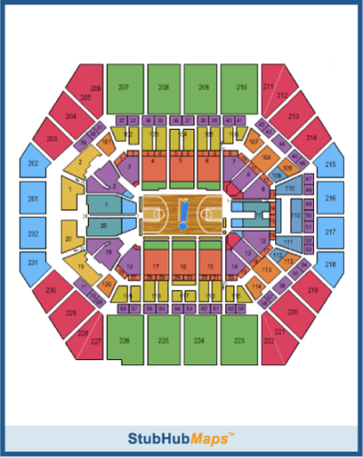 Bankers Life Fieldhouse Seating Chart With Arenda Stroy