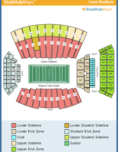 Uva football stadium seating chart submited images also model virginia tech map  bnhspine rh