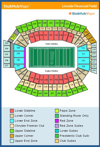 Redskin Stadium Map : redskin, stadium, Lincoln, Financial, Field, Catalog, Online