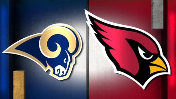 Image result for LA Rams vs. Arizona Cardinals