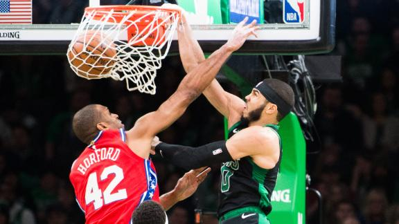 https 6abc com sports brown scores 32 leads celtics to 116 95 win over 76ers 5897894