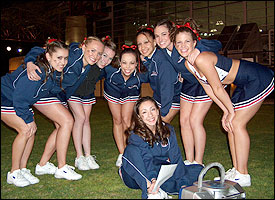 Girls of Gonzaga Cheer
