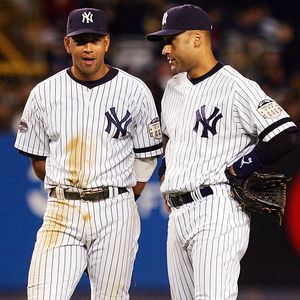 From left to right: A-Rod and Jeter