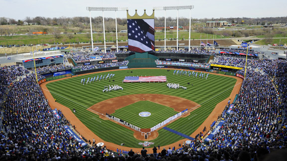 Kansas City Royals Seating View